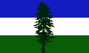 Cascadian Flag