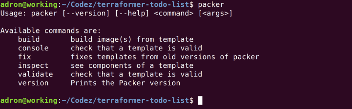 packer-default-response